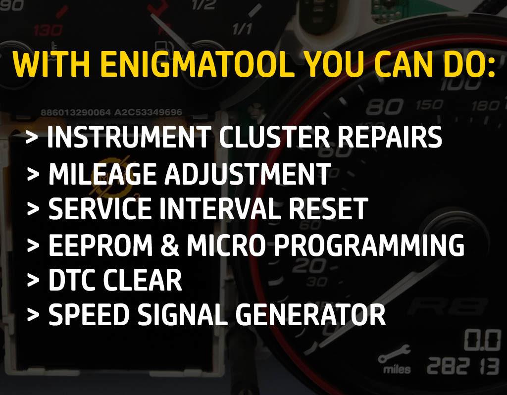 ENIGMATOOL Instrument Cluster Programmer - Enigmatool