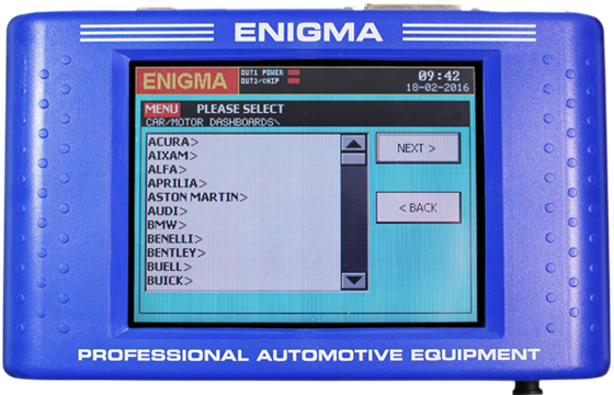 ENIGMATOOL ODOMETER PROGRAMMER