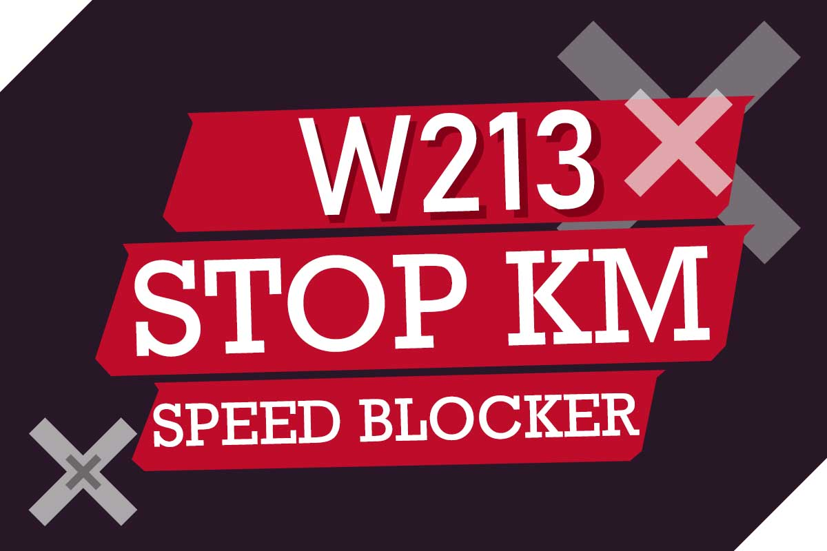 W213 STOP KM SPEED FILTER - Enigmatool